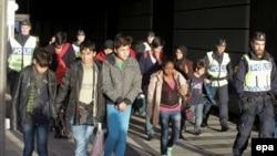 Швециядагы мигранттар.
