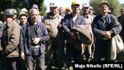 Protest rudara u Đurđeviku