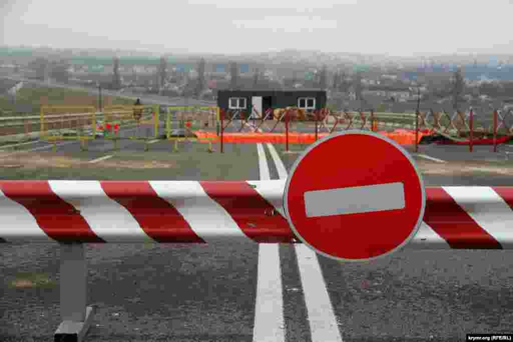 У Сімферополі почали ремонтувати ділянку об'їзної траси, на якому сталася трагедія 28 вересня.