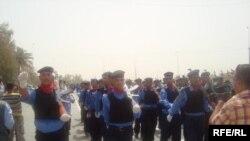 جانب من استعراض قوات الأمن العراقية في بعقوبة، 29 حزيران 2009