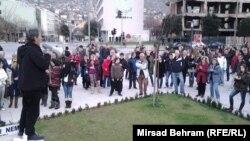 Protest u Mostaru 16.2.2014.