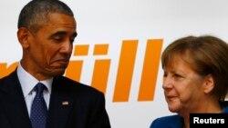 Միացյալ Նահանգների նախագահ Բարաք Օբաման, Գերմանիայի կանցլեր Անգելա Մերկելը, արխիվ