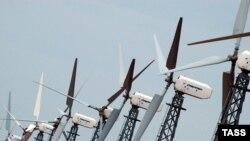 """Ветряные электростанции - одна из главных надежд сторонников """"зеленой энергии"""""""