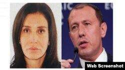 Жахангир жана Замира Хажиевалардын интернетке жарыяланган сүрөтү.