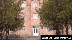 Բյուրեղավանի գիշերօթիկ դպրոցի շենքը