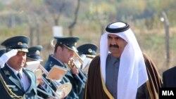 Emir of Qatar, Sheikh Hamad bin Khalifa Al Thani