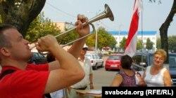 Гарніст Андрэй Павук, аўтар хіта «Я родам зь вёскі»