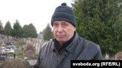 Аляксандар Місьцюкевіч, гарадзенскі актывіст, сябра ТБМ, які прычыніўся да ўсталяваньня помніка