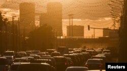 Москва. Автомобильные пробки