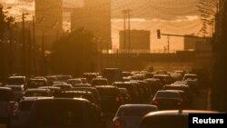 Москвадагы жол тыгыны