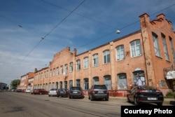 Былы гарбарны завод на Ляхаўцы
