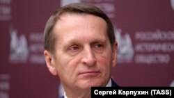 Sergei Naryshkin, Head of the Russian Foreign Intelligence Service