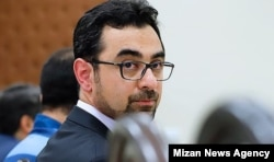 Ahmad Araqchi, a close relative of Abbas Araqchi, the second man in Iran's foreign ministry in the court.