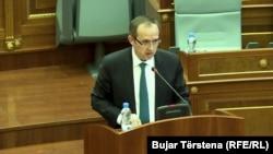 Shefi i grupit parlamentar të Lidhjes Demokratike të Kosovës,Avdullah Hoti.