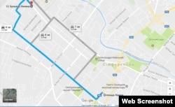 Бульвар Ленина в Симферополе – место строительства ООО «ИнтерСтрой»