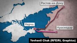 Россия запустила два кабеля в Крым: по дну моря и через мост