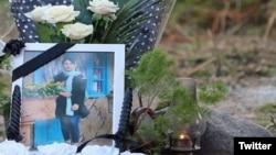 Фотография 14-летней иранки Ромины, погибшей в результате так называемого «убийства чести».