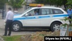 Полицейский автомобиль в городе Шымкенте. Иллюстративное фото.