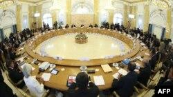 """Грузия, наряду с тремя десятками стран, присоединилась к заявлению в поддержку действий США в отношении Сирии. Документ был составлен шестого сентября на саммите """"Большой двадцатки"""" в Санкт-Петербурге"""