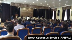 Официальная встреча в Махачкале посвященная развитию государственных СМИ республики, 9 марта 2017 года