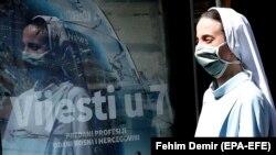 Časna sestra u Sarajevu