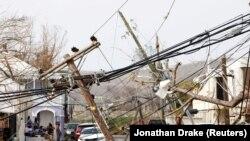 Uragan Marija pogodio je Dominiku 18. septembra