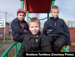 Антон, Паша и Никита