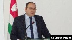 Глава Управления экономики администрации президента Абхазии Беслан Барателия