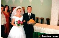 Александр Бондарь с супругой