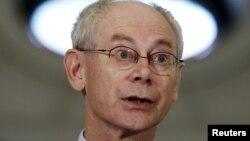 Еуропалық Кеңестің президенті Херман Ван Ромпей.