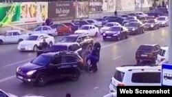 В МВД утверждают, что Магомедшарипов задержан за нарушение ПДД