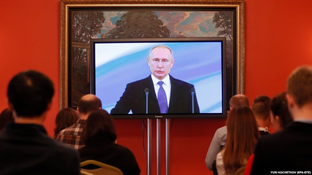 Kremlin Says Proposal For Three Presidential Terms Not On Putins
