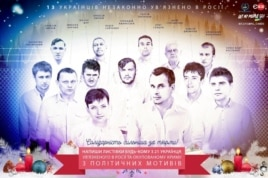 Украинские политзаключенные в России