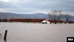 Поплавите во Пелагонија во февруари.