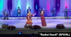 Консерти ҳунармандони Узбакистон дар Душанбе.