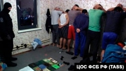 Задержанные в Москве даваатчи