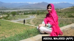 Pakistani education activist and Nobel Peace Prize laureate Malala Yousafzai (file photo)