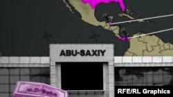 """""""Абу Саҳий""""га оид коррупция билан боғлиқ журналистик суриштирув учун ишланган сурат."""