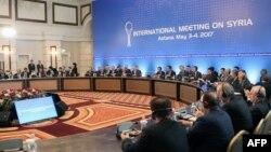 Попереднє засідання відбулося в Астані 4 травня 2017 року