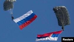 Российско-сербские военные маневры