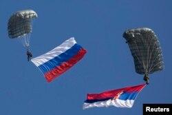 Zajednička vojna vježba oružanih snaga Srbije i Rusije u oktobru 2014.