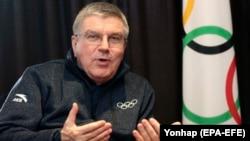 Президент Міжнародного олімпійського комітету Томас Бах