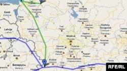 Нафтаправод БТС-2 у абыход Беларусі