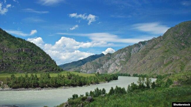 Алтайская река Катунь