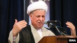 "Akbar Hashemi Rafsanjani said Iran will protect its nuclear ""rights."""
