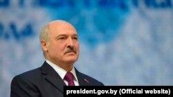 Belarusian President Alyaksandr Lukashenka (file photo)