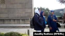 گردشگران ایرانی در باکو، پایتخت جمهوری آذربایجان