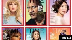 """Обложки журнала Time с представителями разных категорий """"Самых влиятельных людей мира"""" в 2019 году"""