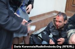 Евгений Шибалов после нападения