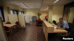 Prostorija za posete u Sheveningenu